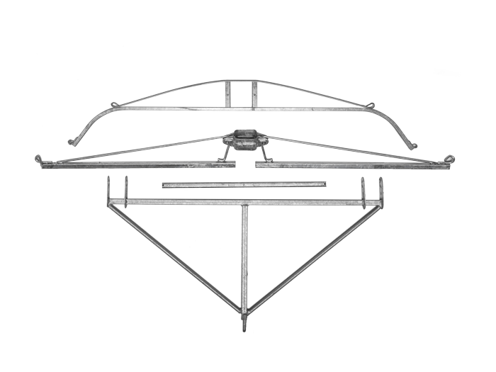 Composizione braccetti di testata oscillante per sistemi GDC